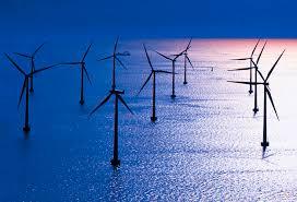 Un esempio di energie rinnovabili: l'eolico off-shore.